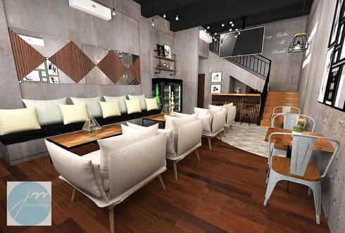 Nefes ID Cafe G-Walk Surabaya:   by JM Interior Design