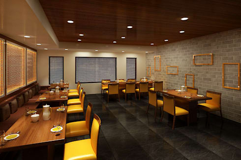 Restaurant—a major Franchise:  Hotels by Srijan Homes