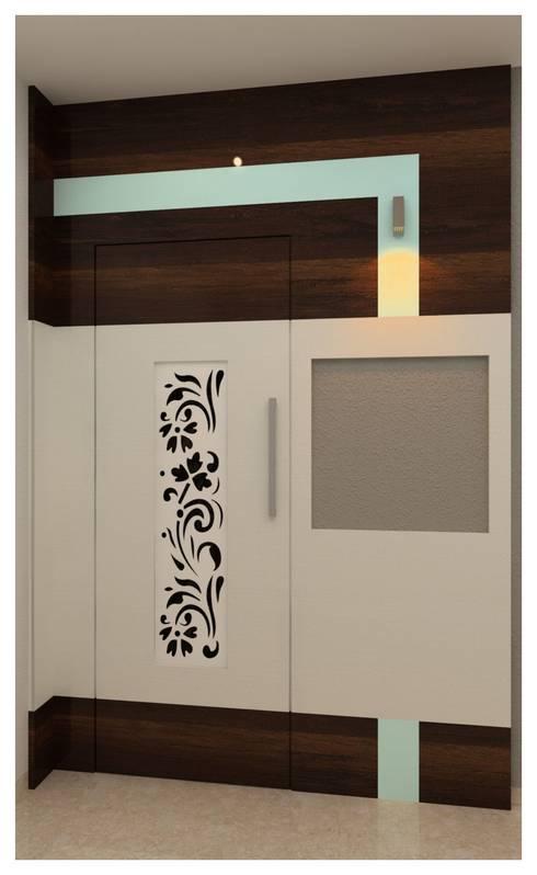 Bedroom: modern Kitchen by Shrishti Associates
