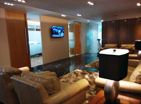 Office Lobby:  Ruang Kerja by ADEA