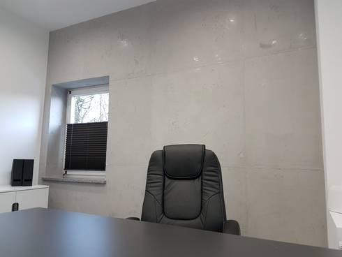 Betonoptik Wand betonoptik in weiden by sebastian kopp malermanufaktur homify