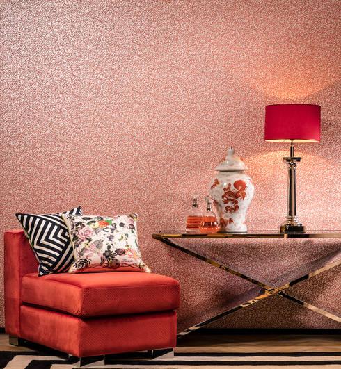 Hidden Treasures Interior: Paredes y pisos de estilo  por BIANELLA