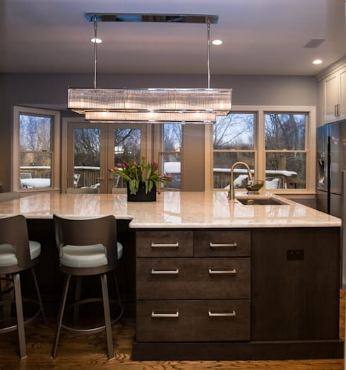 White Delight: eclectic Kitchen by PERFORMANCE KITCHENS & HOME