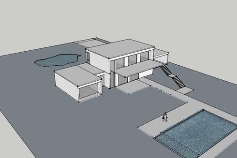 Dise o de casas en 3d de badich arquitectura y costrucci n spa homify - Diseno de casa en 3d ...