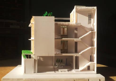 Nhà phố 6mx13m:  Nhà by D3A