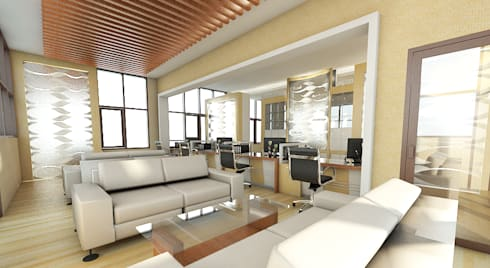 modern Study/office by Celcius Indonesia