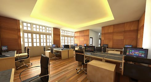 Office buildings by Celcius Indonesia