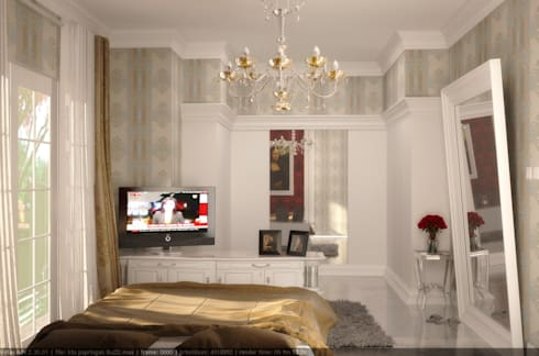 country Bedroom by Celcius Indonesia