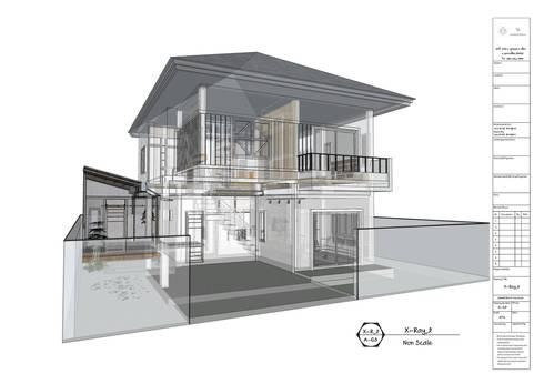ต่อเติมและ ตกแต่งภายใน:   by TK Interior Design