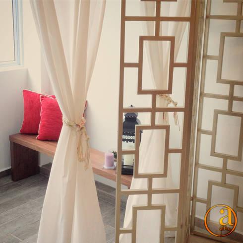 Project Asgard @ Pasir Ris:  Corridor, hallway by ab1 Abode Pte Ltd