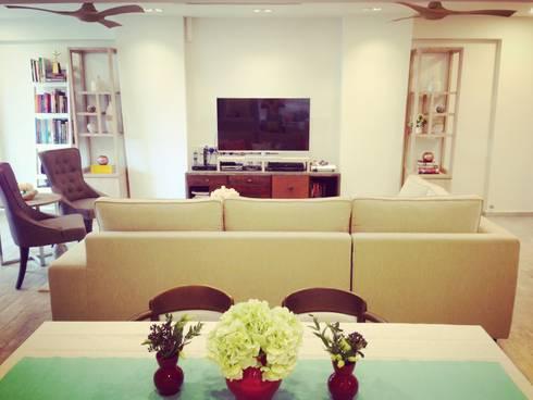 Project Asgard @ Pasir Ris: scandinavian Dining room by ab1 Abode Pte Ltd