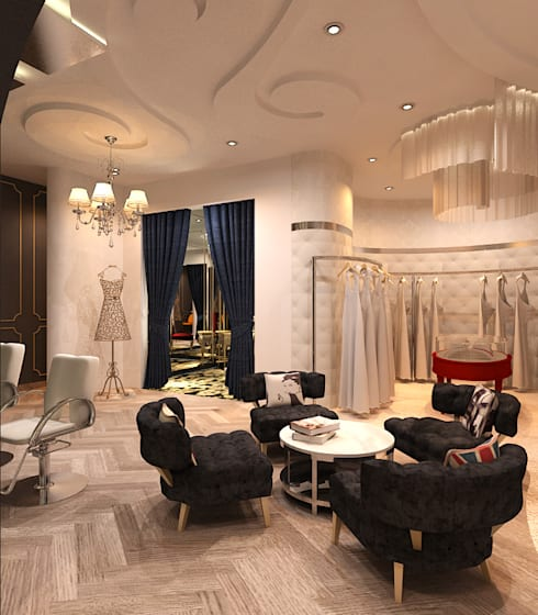 Lily sasongko bridal :  Ruang Komersial by Kottagaris interior design consultant