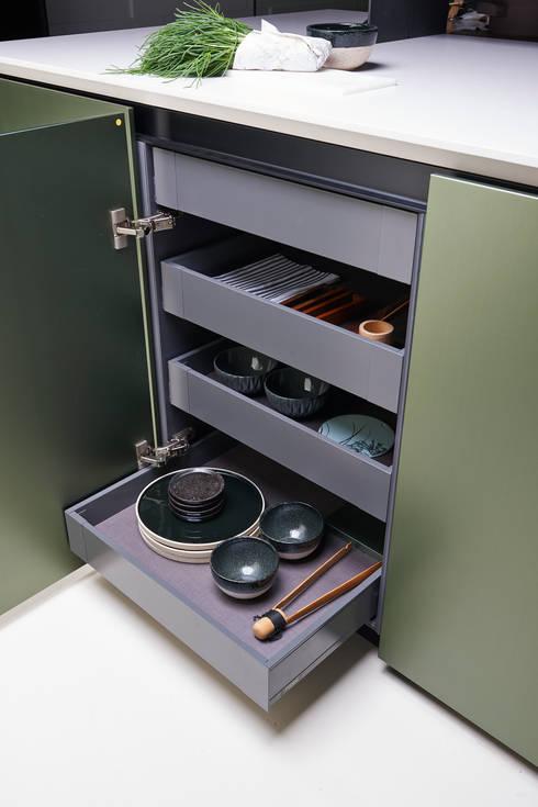 Küche von ARTE CUCINE/ PEDINI SAN ANGEL