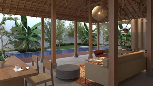 bintaro screen house:   by e.Re studio architects