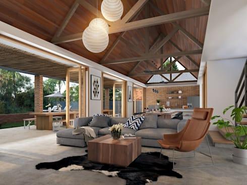 batukaras villa:   by e.Re studio architects