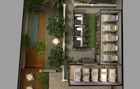 O hostel legian:   by e.Re studio architects
