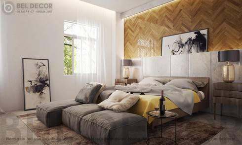 Master Bedroom:   by Bel Decor