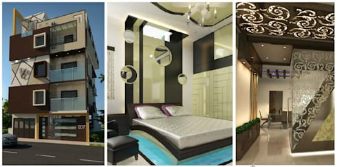 project:  Bungalows by Gargee Kashyap homify