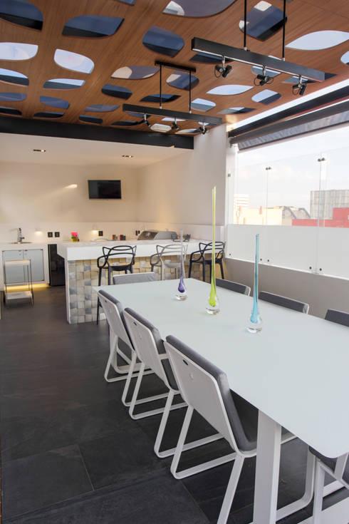 Cubic White: Cocinas de estilo  por STUDIO COCOONS