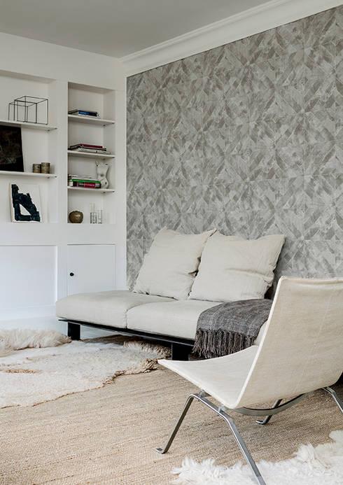 Arctic Fever Burst : Paredes y pisos de estilo  por BIANELLA
