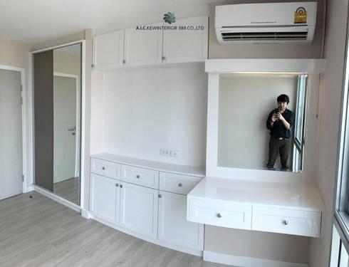 ตกแต่งภายใน ห้องรับแขก ห้องนอน ห้องน้ำ:   by A.I.C.KEWINTERIOR888