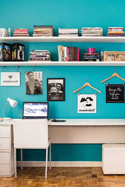 Estudios y oficinas de estilo  por INTERIOR - DECORAÇÃO EMOCIONAL