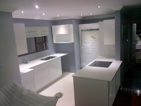 Kitchens:  Built-in kitchens by Capital 5 Consulting