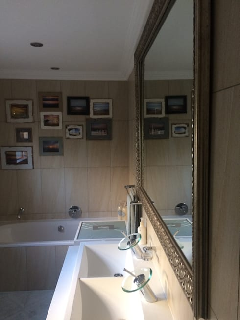 Bathrooms revised: modern Bathroom by Capital 5 Consulting