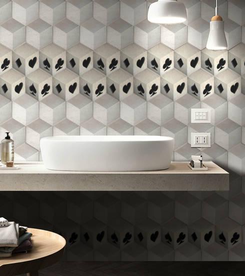 Paredes y pisos de estilo moderno por Massimiliano Toniol