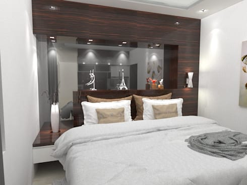 House at Batununggal Abadi: modern Bedroom by Asera.Atelier