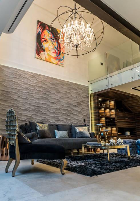 Salas / recibidores de estilo  por STUDIO COCOONS