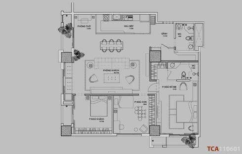 Căn hộ chung cư cao cấp TimesCity - T11:   by deline architecture consultancy & construction