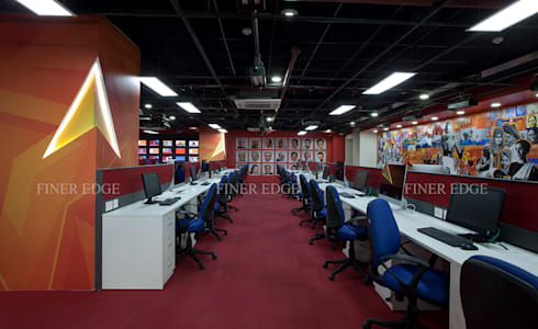Commercial Spaces by Finer Edge Architects & Interior Designers