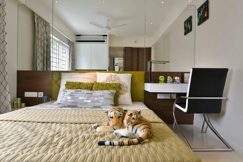 Heera High Life: modern Bedroom by SM Studio