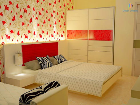 Independent Bungalow, JP Nagar—Mr.Raghu: classic Bedroom by DECOR DREAMS