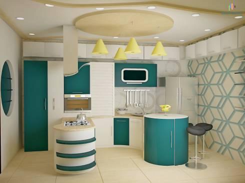 Independent Bungalow, JP Nagar—Mr.Raghu: classic Kitchen by DECOR DREAMS