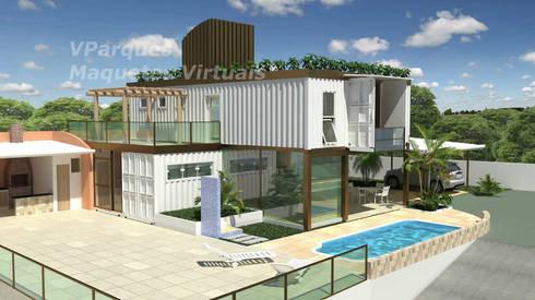 Casa container salvador ba por vparques arquitetura e - Casa container espana ...