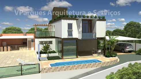 Casa container salvador ba por vparques arquitetura e servi os homify - Casa container espana ...