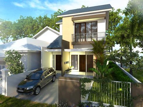 Rumah Tinggal Mr. Iwan S, Samarinda, Kaltim:   by Artisia Studio