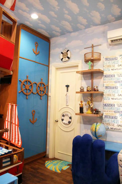 Kamar Anak dengan tema <q>Perahu</q>:  Kamar tidur anak by G | moment capture
