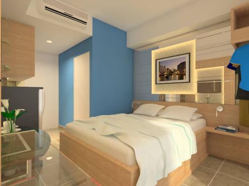Interior Type Studio, Papilio Apartemen, Surabaya:   by Artisia Studio