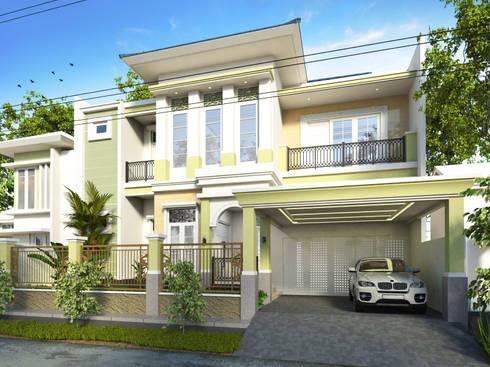 Rumah Tinggal Mr. Dias, Samarinda, Kaltim:   by Artisia Studio