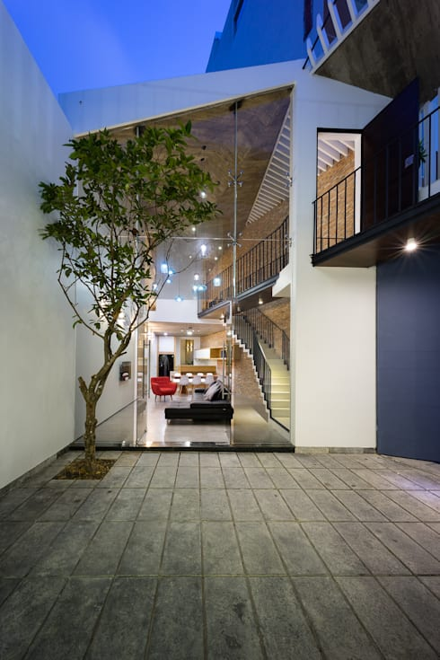 3 Houses:   by AD+