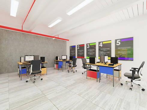 Proposal Desain Interior, Training Room SC Johnson Company, Surabaya:   by Artisia Studio