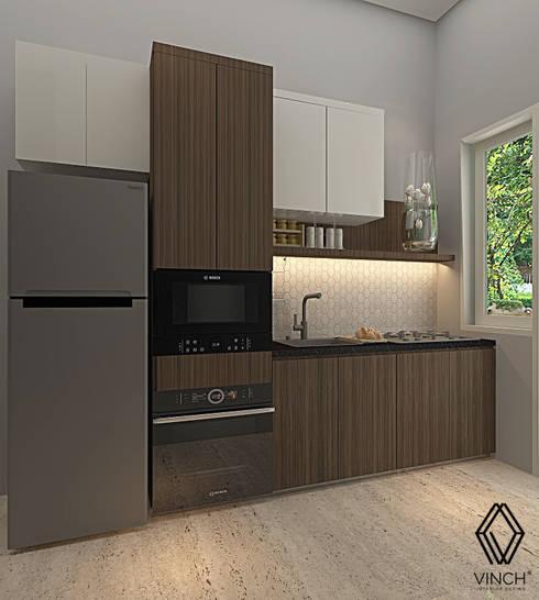 Kitchen :  Unit dapur by Vinch Interior