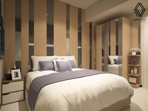 Master Bedroom:  Kamar Tidur by Vinch Interior