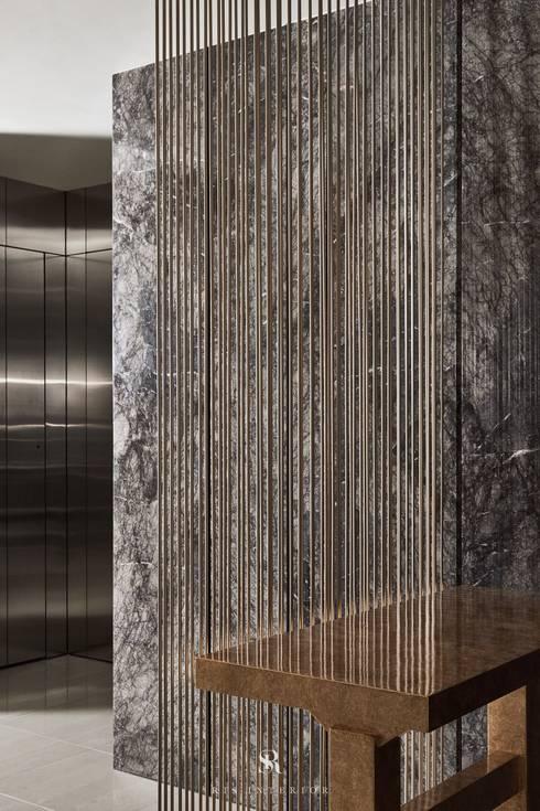 璀璨.脈脈|Van der Vein:  牆壁與地板 by 理絲室內設計有限公司 Ris Interior Design Co., Ltd.