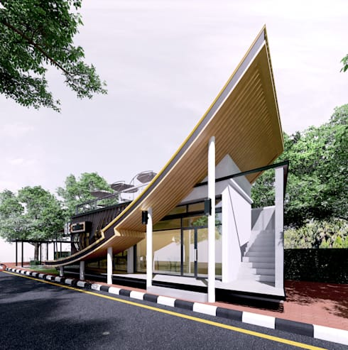 3E COFFEE SHOP @ Chiangmai sport club:   by NSign Studio