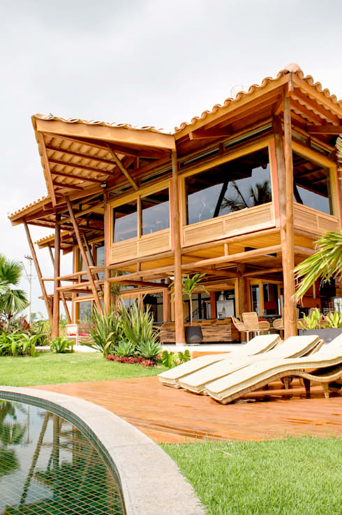 Nhà by VERRONI arquitetos associados