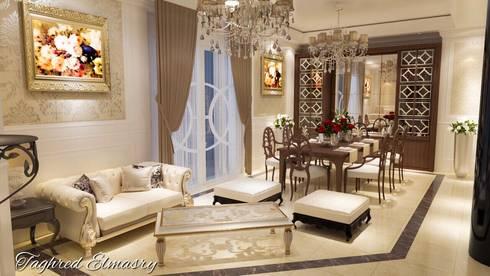غرفة سفرة:  غرفة السفرة تنفيذ Taghred elmasry